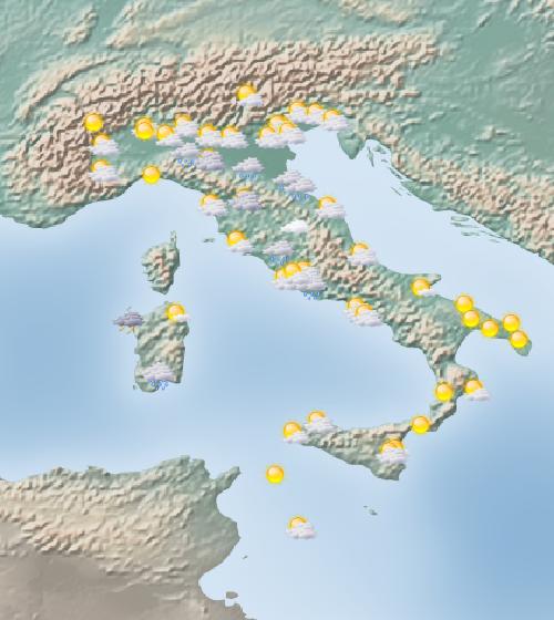 Previsioni meteo San piero in bagno, Forlì Cesena | MeteoSmit.it